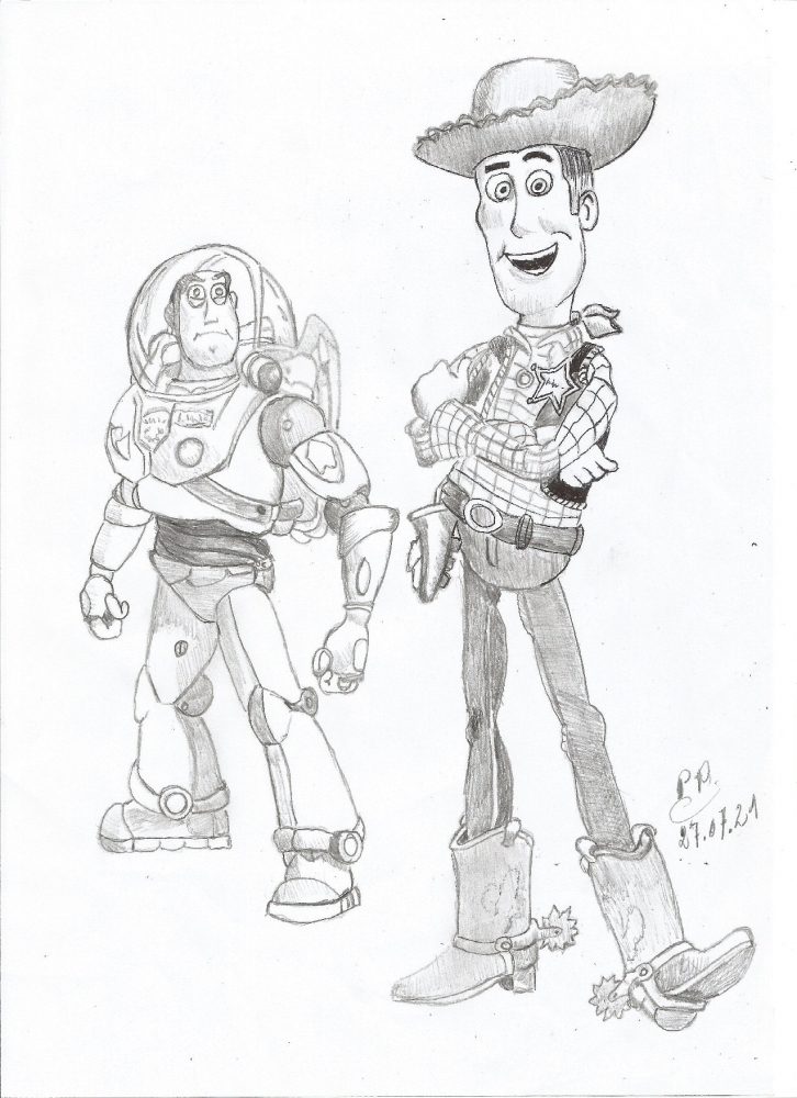 Toy Story by Patoux